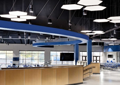 Bryant High School Cafeteria